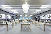 Apple podaje wyniki finansowe za pierwszy kwartał 2017 roku - Apple Store we Paryżu.