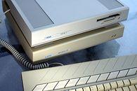 Atari Mega ST – we właściwą stronę - Atari Mega ST2 z dyskiem MegaFile 30 o pojemności 30 MB.