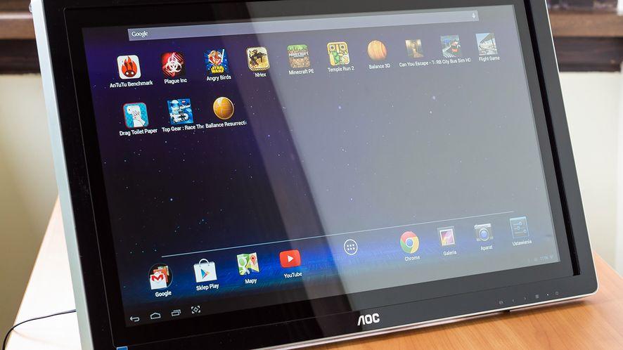 AOC All-In-One A2472PW4T, czyli duży tablet i monitor do PC w jednym