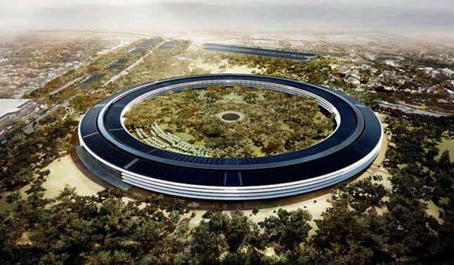 Nowy budynek Apple'a, projekt Foster+Parents, zostanie ukończony w 2016