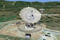 Jak gadamy z satelitami. Garść ciekawostek - Antena zlokalizowana w Hiszpanii. Fot. NASA