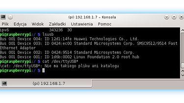 Raspberry PI jako router 3G/4G