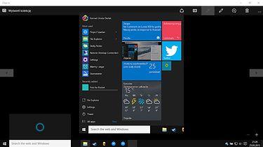 Trochę o tym jak Windows 10 zmienia się na naszych oczach — kompilacja 10122 oraz 10125 - Cortana doczekała się pomniejszonego okienka wywoływanego kombinacją Win+C