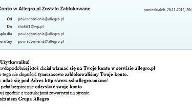 To już plaga - Włamanie na Allegro
