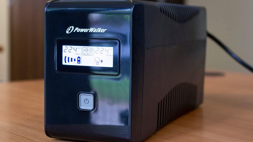 PowerWalker VI 850 LCD – tani zasilacz awaryjny do domu
