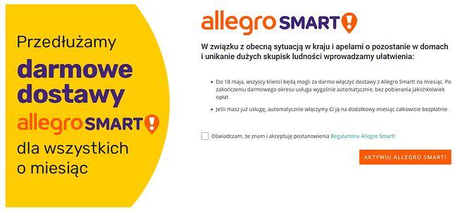 Allegro Smart! za darmo na kolejny miesiąc, fot. Jakub Krawczyński.