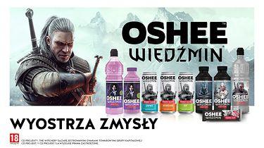 Wiedźmin i Oshee współpracują. Eliksiry dostępne w całej Polsce - Wiedźmin i Oshee