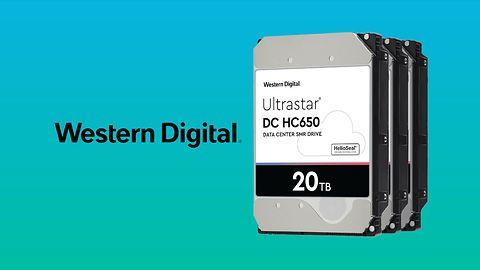 WD Ultrastar o nowych wielkościach. 18 TB i 20 TB w HDD