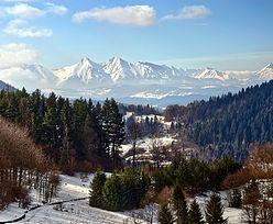 Rzadkie zjawisko w Tatrach. Spadł żółty śnieg. Ma związek z Saharą
