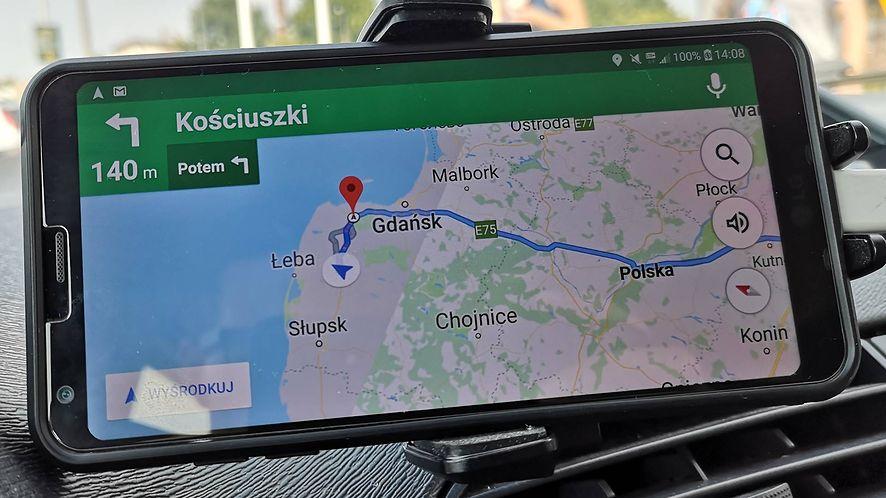 Mapy Google nie są idealne, powiadomienia trzeba dopracować, fot. Oskar Ziomek