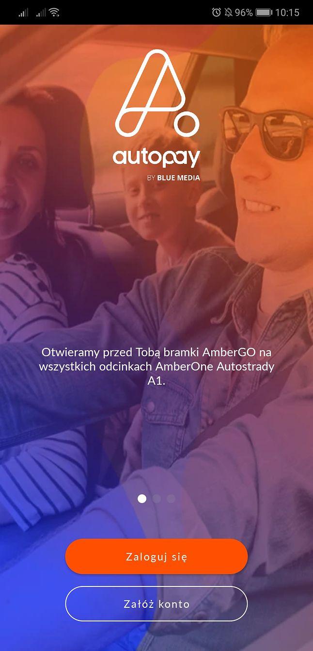 Autopay by Blue Media – aplikacja do automatyzacji płatności za przejazd autostradą A1.