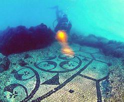 Podwodne starożytne miasto Baiae. Dziś turyści mogą je zwiedzać