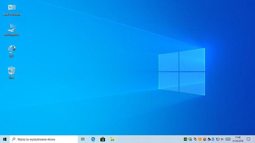 Windows 10 1903 - pulpit