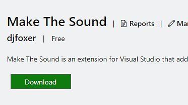 Make The Sound - muzyczna wtyczka do Visual Studio