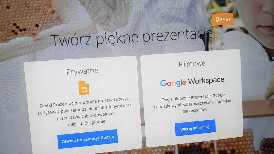 Prezentacje Google bywają wykorzystywane przez atakujących, fot. Oskar Ziomek