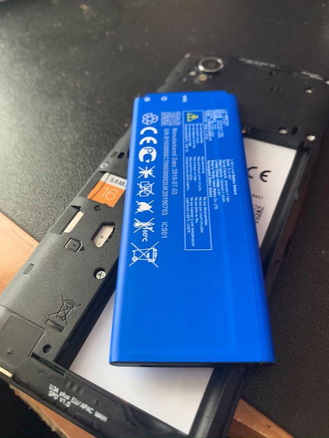 Jak dawno nie widziałem wyjmowanej baterii w smartphone
