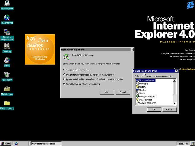 Pierwszy znany build Windows NT 5.0 (fot. BetaWiki)