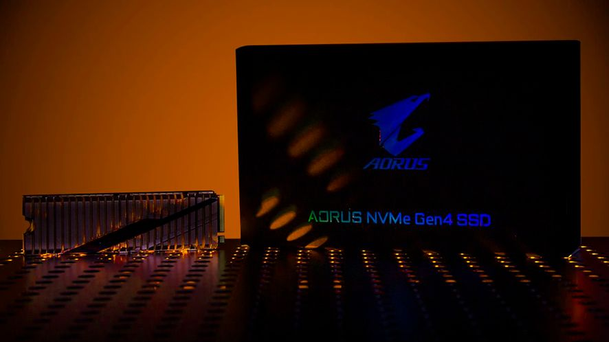 Gigabyte zaprezentuje dysk SSD z PCIe 4.0