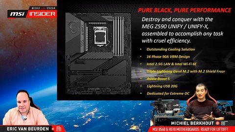 Nie lubisz podświetlenia RGB? MSI prezentuje całkowicie czarne płyty główne