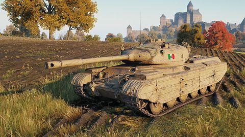 Nowości w World of Tanks: pierwszy włoski czołg i specjalne wyzwanie