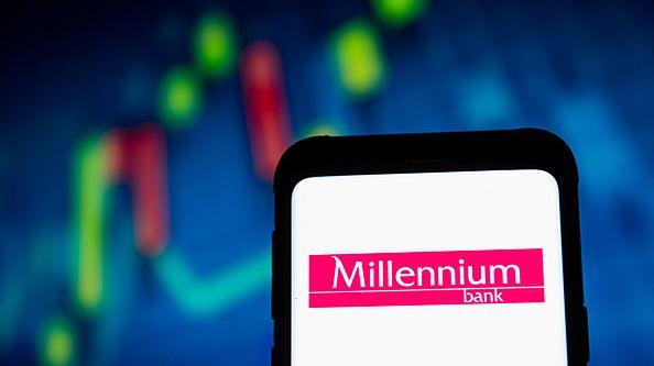 Awaria w banku Millenium [Źródło: GettyImages/SOPA Images]
