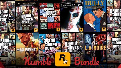 Seria GTA, Max Payne i inne hity ze studia Rockstar w charytatywnej Humble Bundle