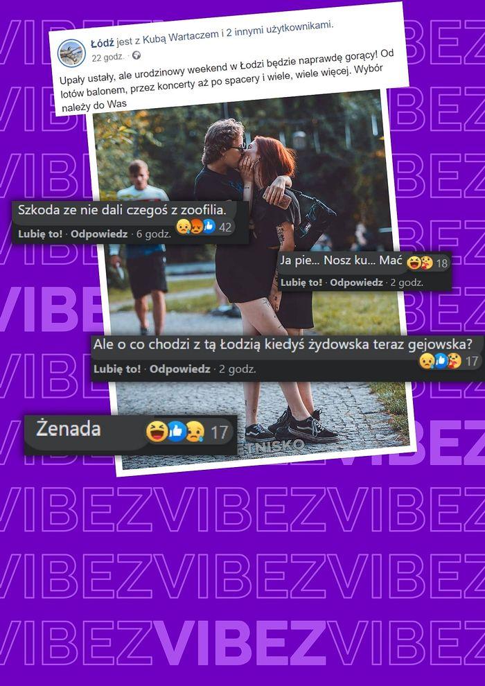 Zdjęcie na fanpage Łodzi wywołało kontrowersje