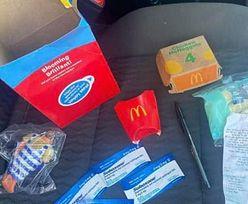 Matka zabrała dziecko do McDonald's. W Happy Mealu znalazła tajemnicze saszetki