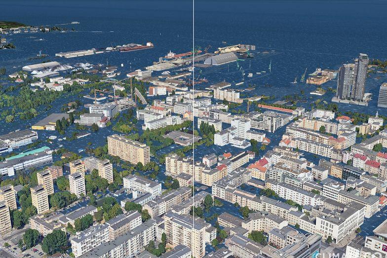 Gdańsk i Gdynia pod wodą? Przerażające wizje zmian na Ziemi