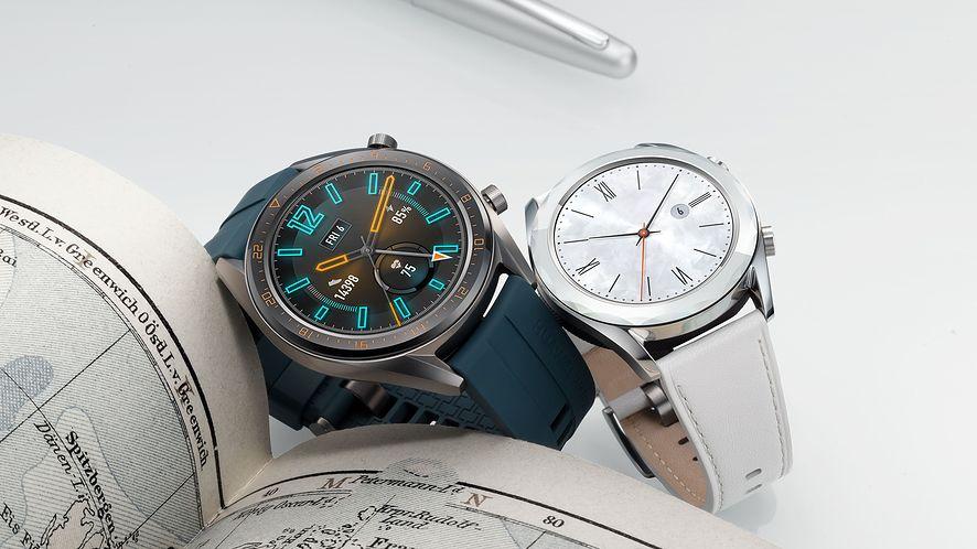 Huawei Watch GT Active i Elegant, fot. materiały prasowe