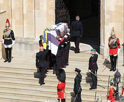Skandal na pogrzebie Filipa. Półnaga kobieta aresztowana