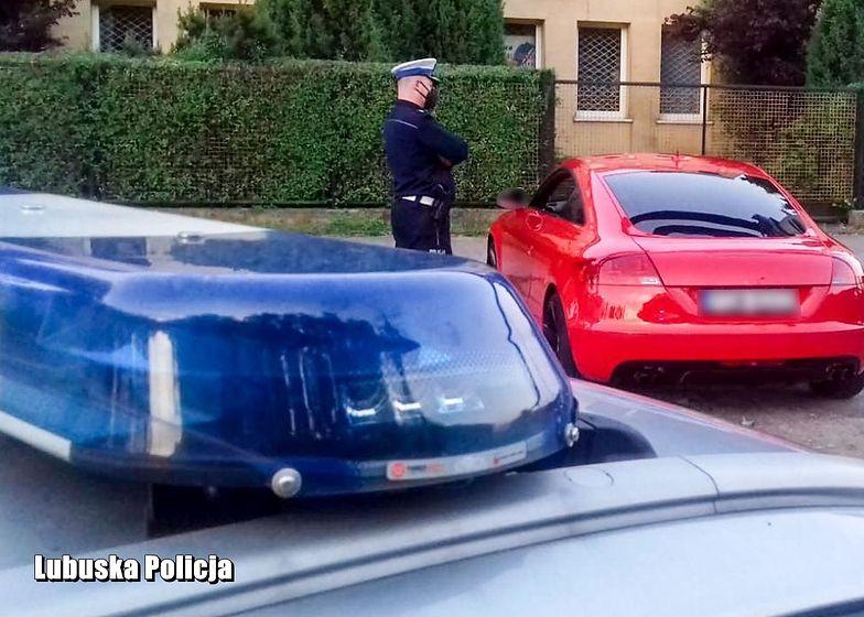 Ogromny nielegalny rajd na ulicach Gorzowa Wielkopolskiego. Ponad 200 samochodów