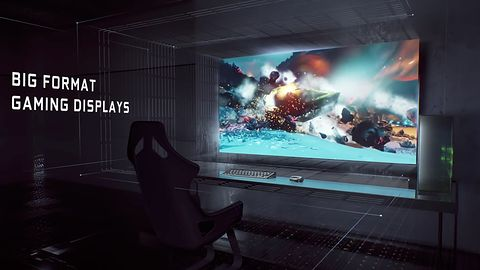 Wielkoformatowe monitory NVIDIA Big Format Gaming Display będą opóźnione i piekielnie drogie