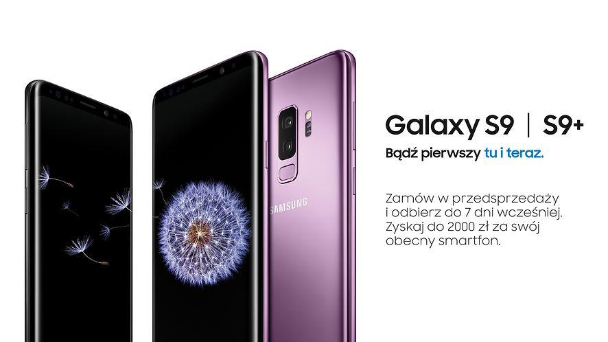 Rusza przedsprzedaż Samsunga Galaxy S9 i S9+