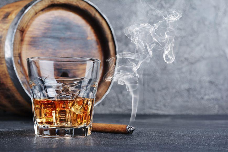 Alkohol wzmaga rakotwórcze działanie nikotyny