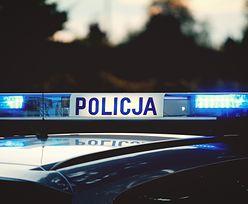 Policyjny pościg za bmw. Padły strzały, funkcjonariusze w szpitalu
