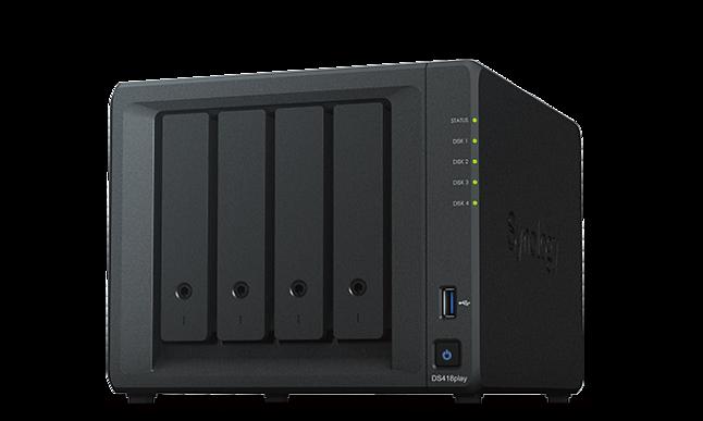 Synology Diskstation DS418Play - zdjęcie pobrane z oficjalnej strony Synology