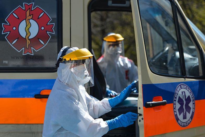 Koronawirusem zaraziło się ponad 8 i pół tysiąca mieszkańców Polski