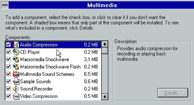 Flash dołączony do Windows 98 (fot. fasterthanlime, Twitter)