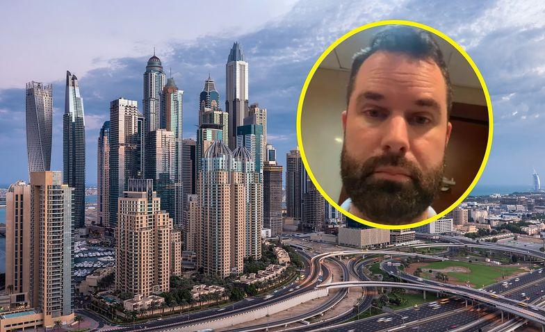 Dramat turysty w Dubaju. Szok, za co grożą mu 3 lata więzienia