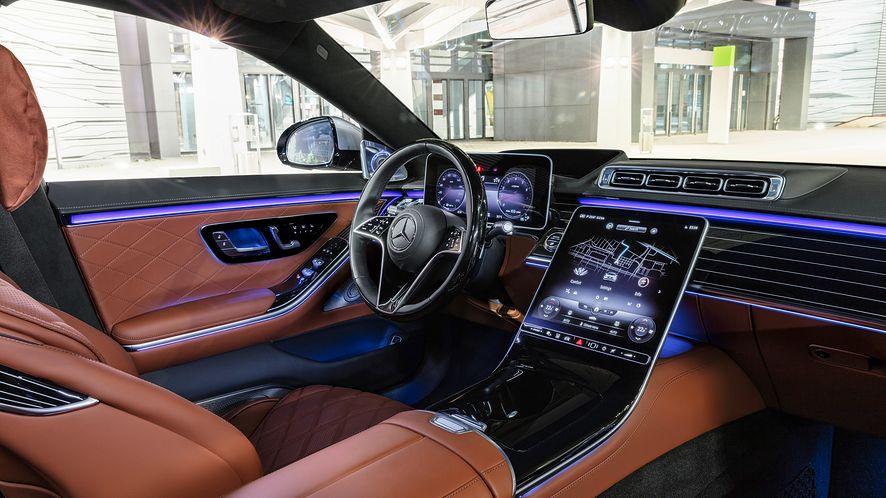 Mercedes-Benz Klasy S 2021, fot. Mercedes-Benz