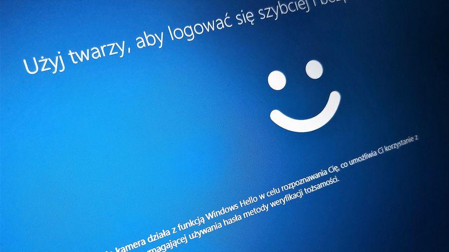 Biometria z Windows 10 ma nowe zastosowanie. Logowanie do konta online już nie wymaga hasła