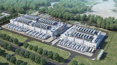 """Warszawska """"Dolina Krzemowa""""? Na Bielanach rośnie amerykańska inwestycja - Wizualizacja kampusu WAW1"""
