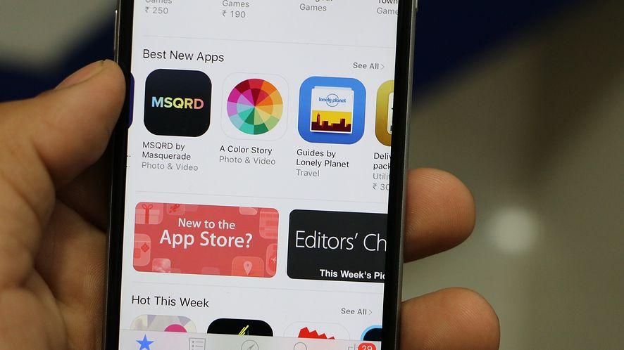 App Stor z bardzo dobrą sprzedażą [fot. Pixabay]