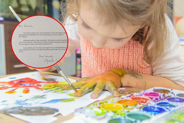 12-latka z Polski wysłała obraz Elżbiecie II. Niesamowite, co stało się potem