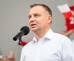 Strajk Kobiet. Andrzej Duda rzucił słynnym przysłowiem. Podsumował policję