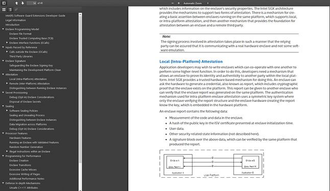 Intel SGX Developer Guide