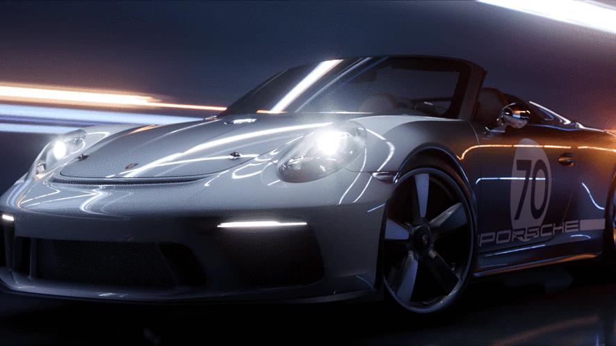 NVIDIA Turing RTX: Epic Games i Porsche 911 Speedster w efektownym demie