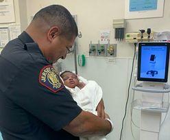 Szanse na uratowanie dziecka były niewielkie. Policjant bohaterem