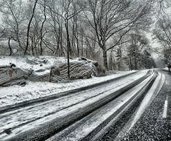 Śnieg, deszcz i mróz. IMGW ostrzega przed fatalnymi warunkami na drogach!